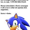 O Sonic é foderoso.