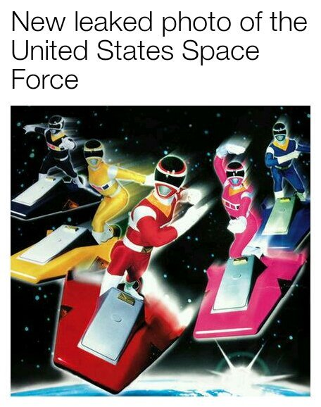 United States Space Force - meme