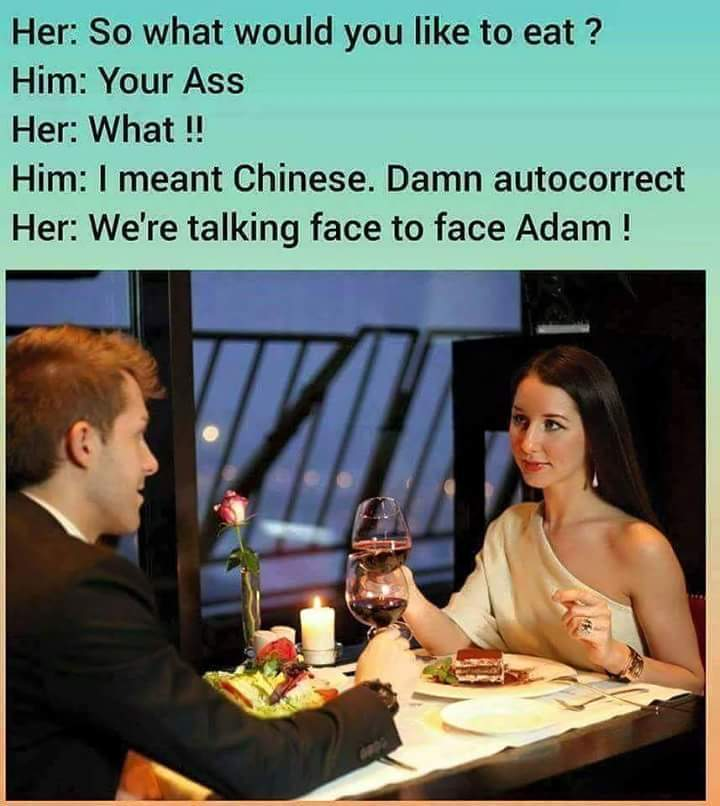 Autocorrect !! - meme