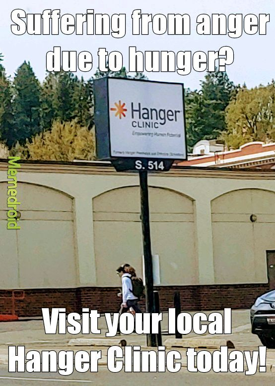 Hangry all the time - meme