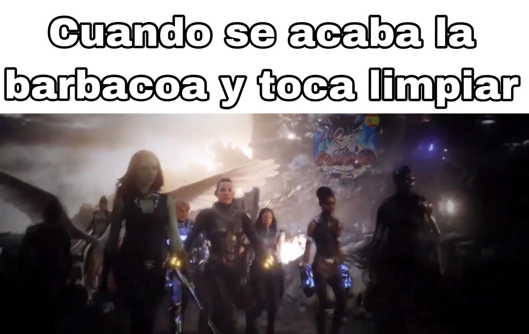 recien horneado - meme