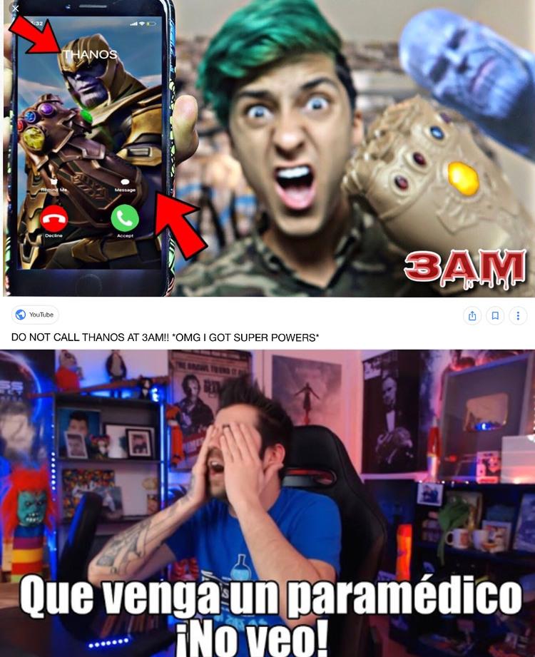 El vídeo me da cringe - meme