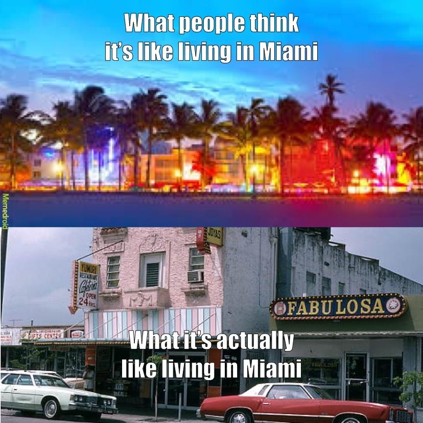 Miami Life - meme