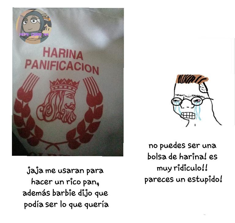 The chad harina :0 - meme
