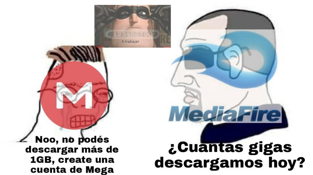 Que kpo Mediafire - meme