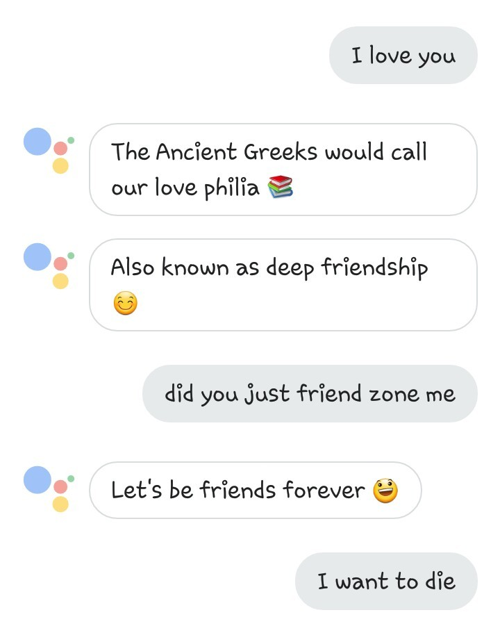 Google Assistant... - meme