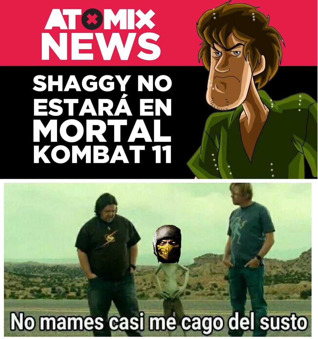 Otro de Shaggy :cool: - meme