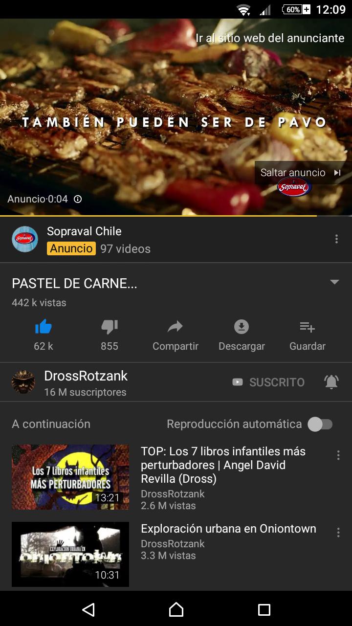 Me salió un anuncio de carne luego de ver este video...ya no sé qué creer, (si no entienden, vean el video) - meme