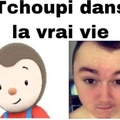 Tchoupi vs Real Life