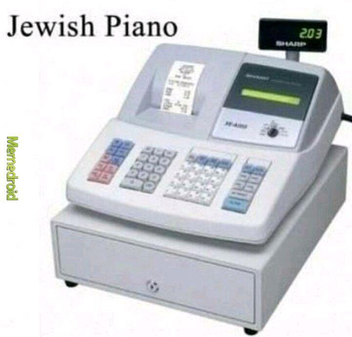Piano juif - meme