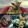 Yoda knows how to party