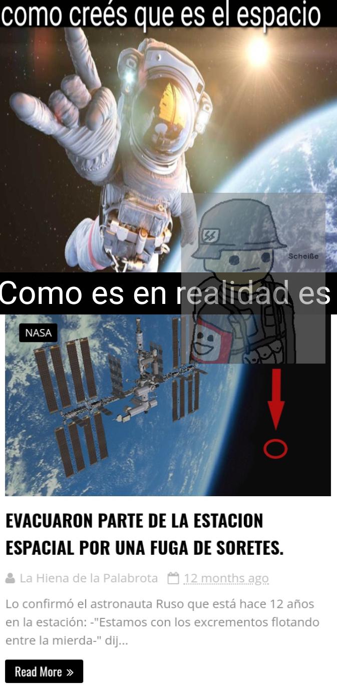 Espectativas VS Realidad - meme