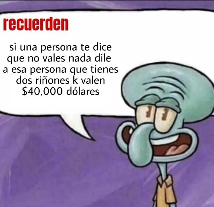 Recuerden - meme
