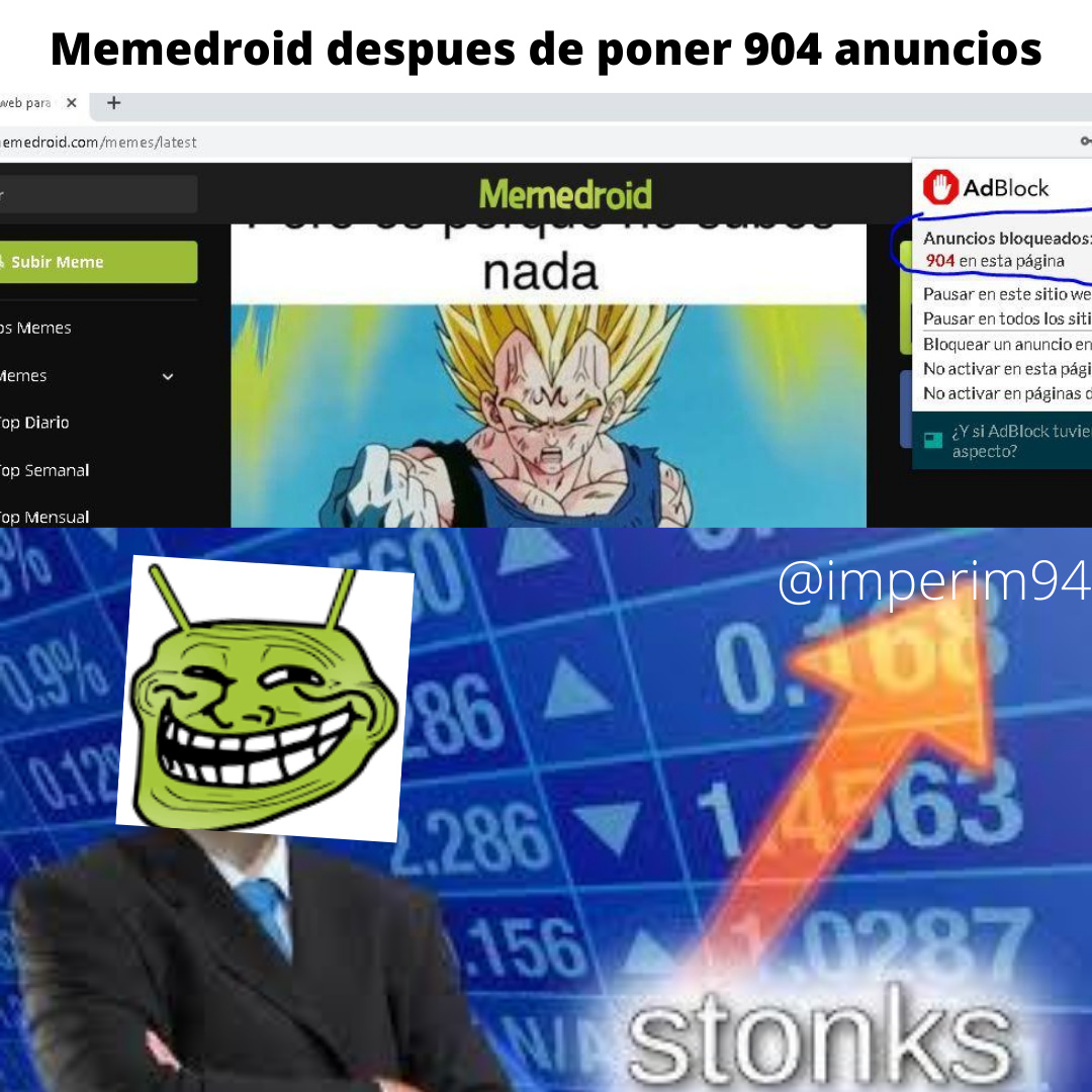 AdBlock mi salvador - meme