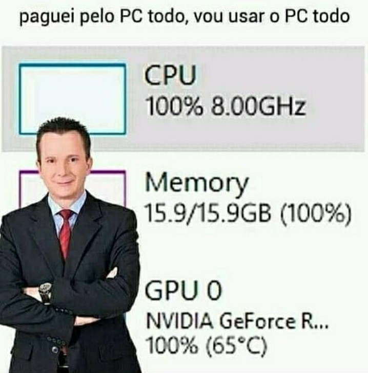 65 graus - meme