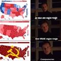 Vague rouge