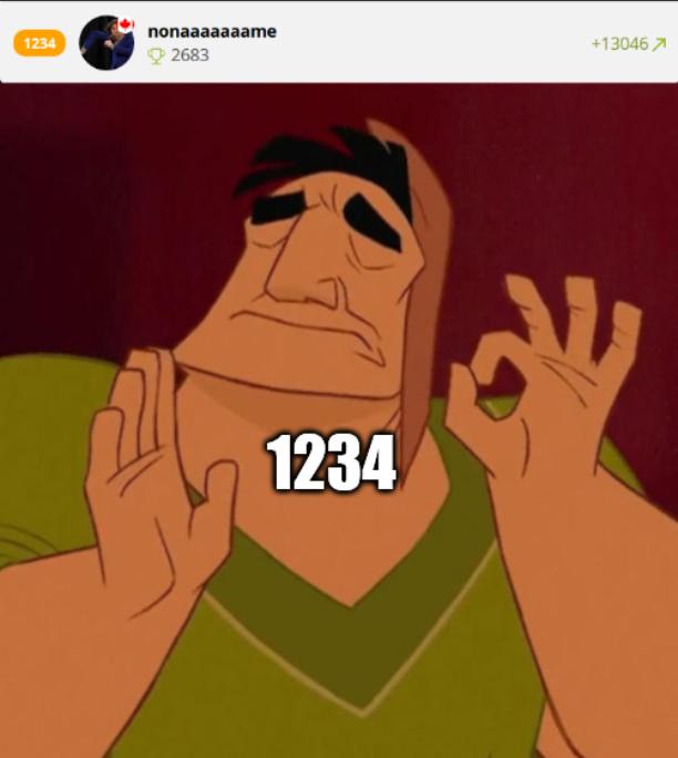 1234 - meme