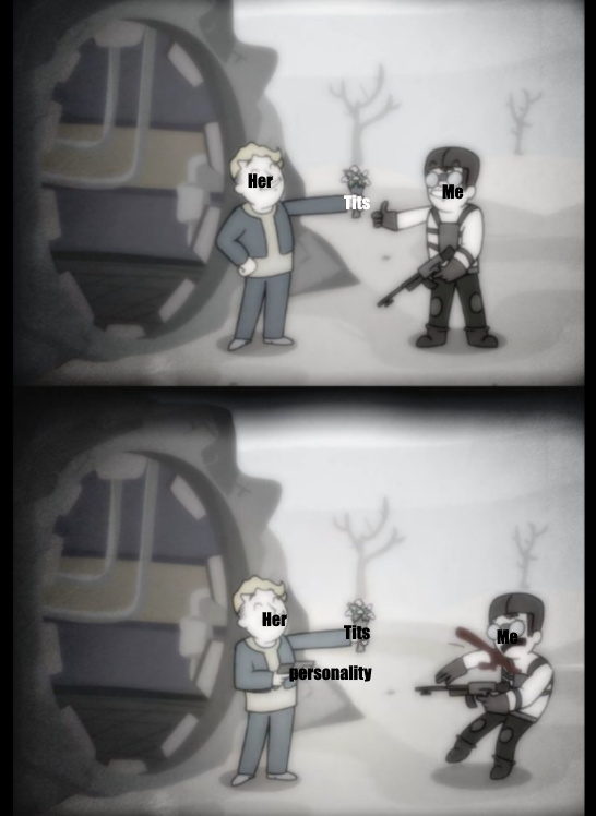 Friendship... Is a myth (Thanks to Texas_Ranger1 for the template!) - meme