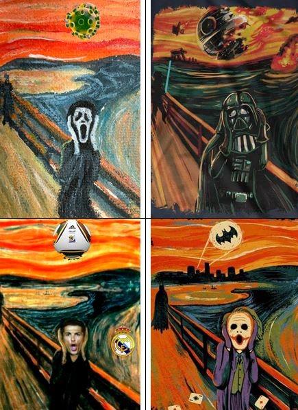 scream is-cream - meme