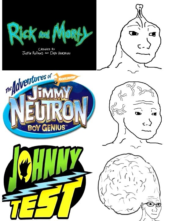 Jimmy Neutron era la raja - meme