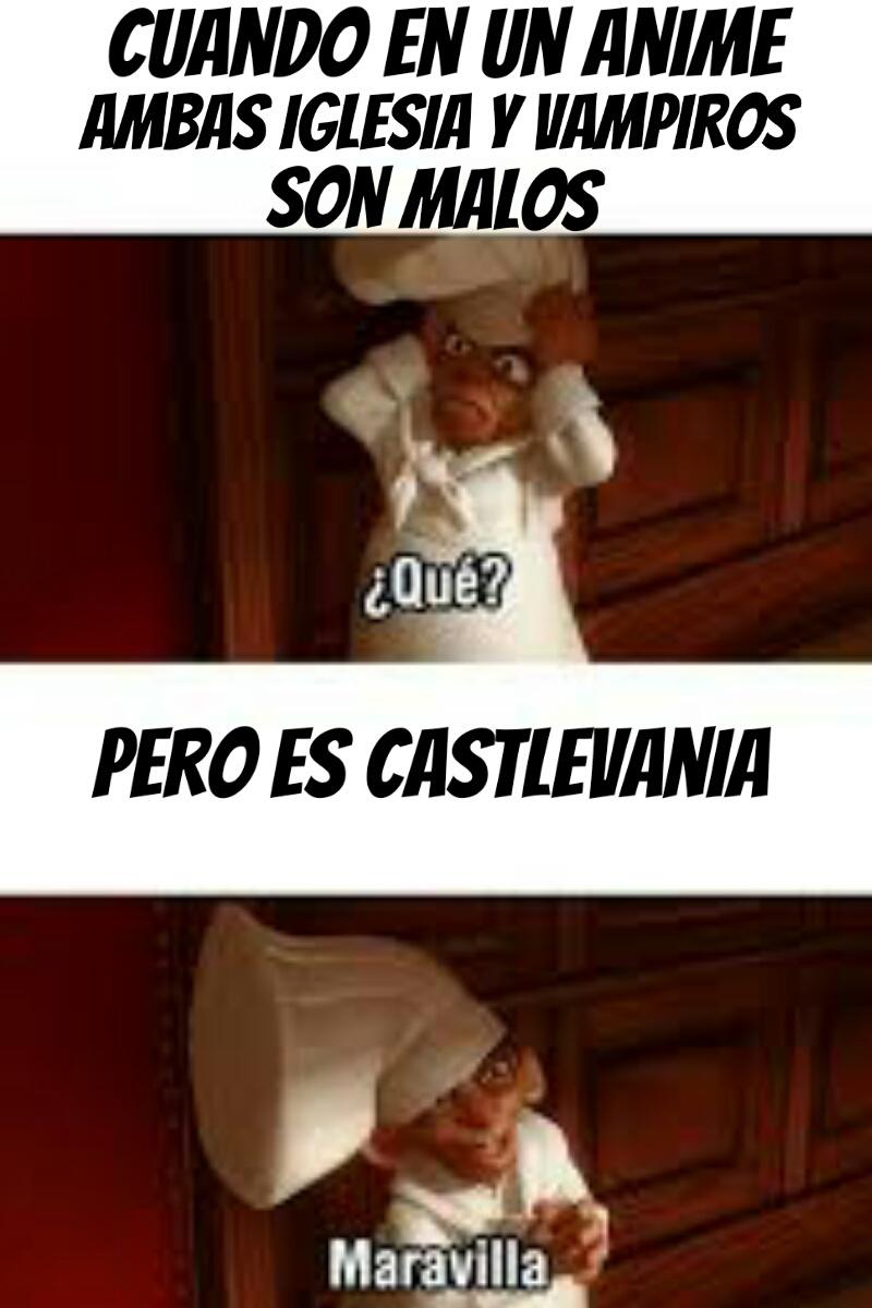 Castlevania oof - meme
