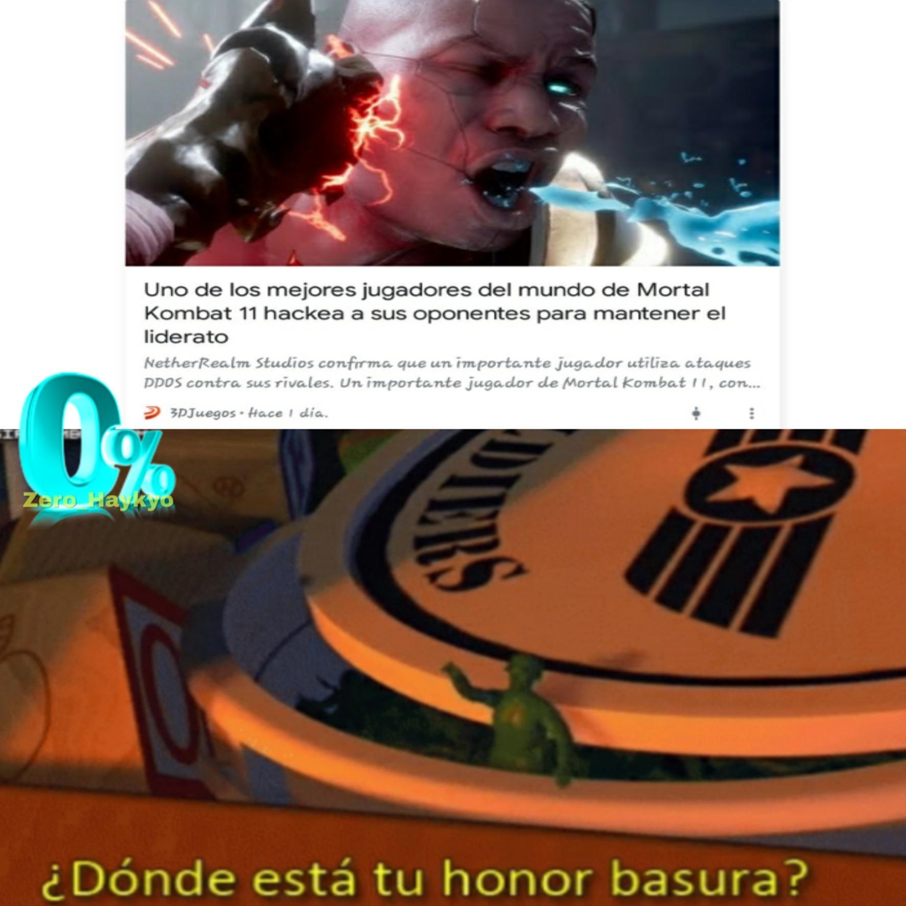 Donde está tu honor - meme