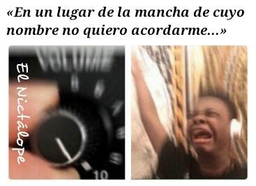 Don Quijote de la Mancha - meme