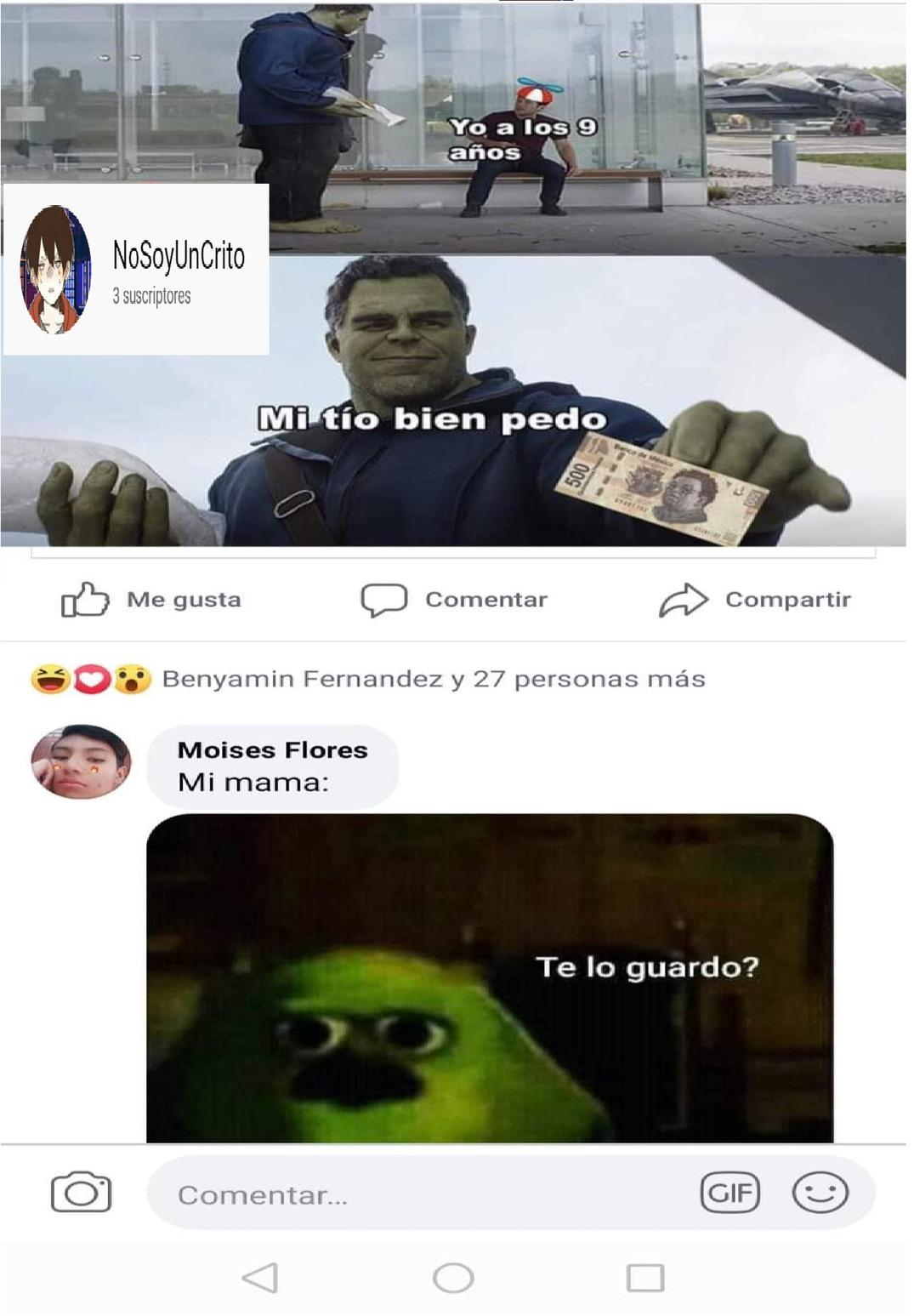 no gracias - meme
