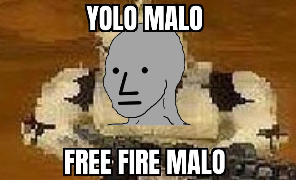 El que lo rechaza es yolotroll y juega free fire y chupa pene - meme