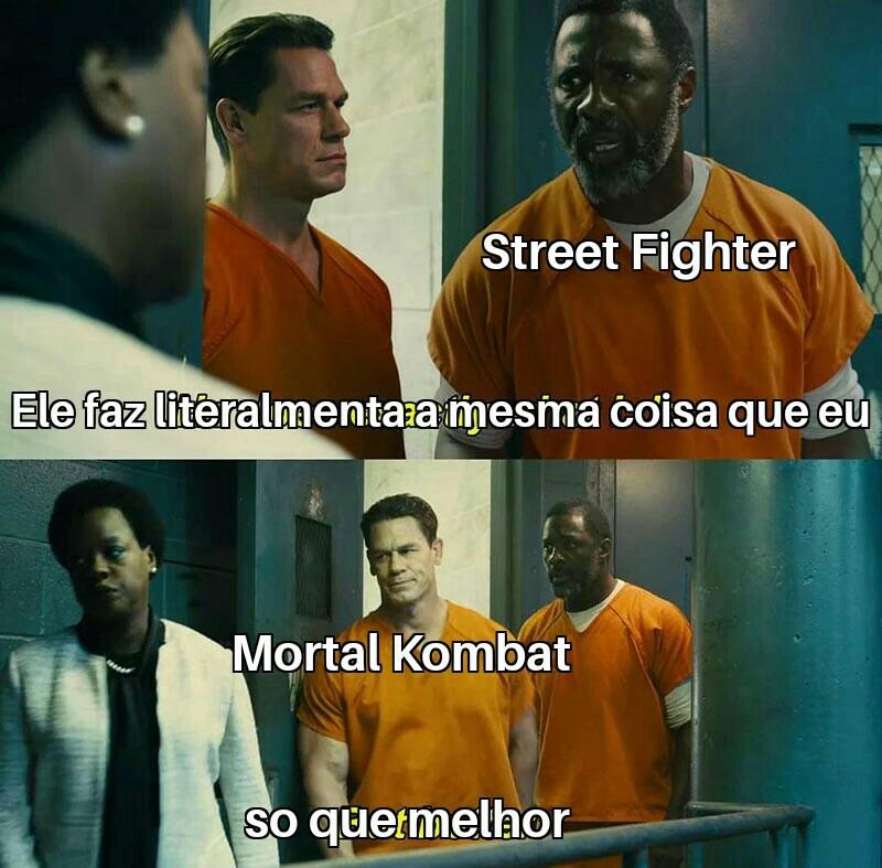 Mortal kombat shaolin monks - meme