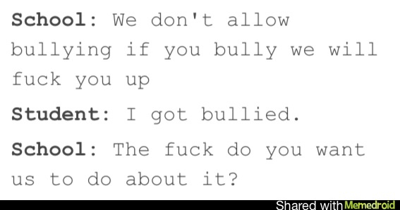 Lets stop bullying! - meme