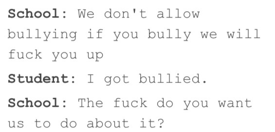 Stop bullying - meme