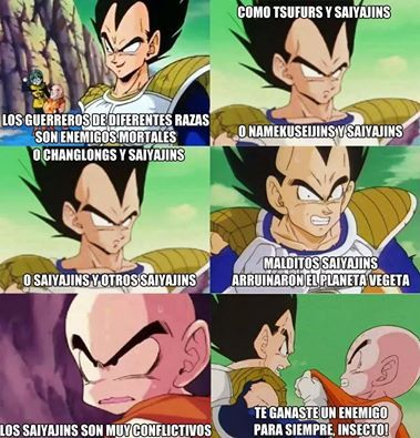 Saiyajin logic! - meme