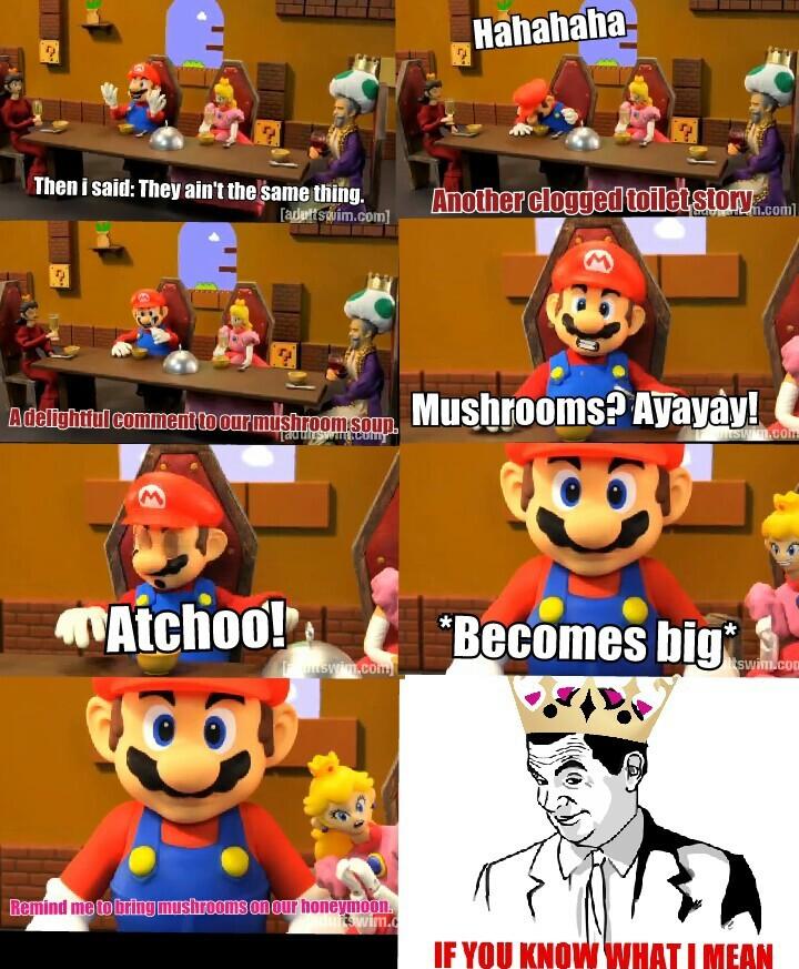 Princess peach. - meme