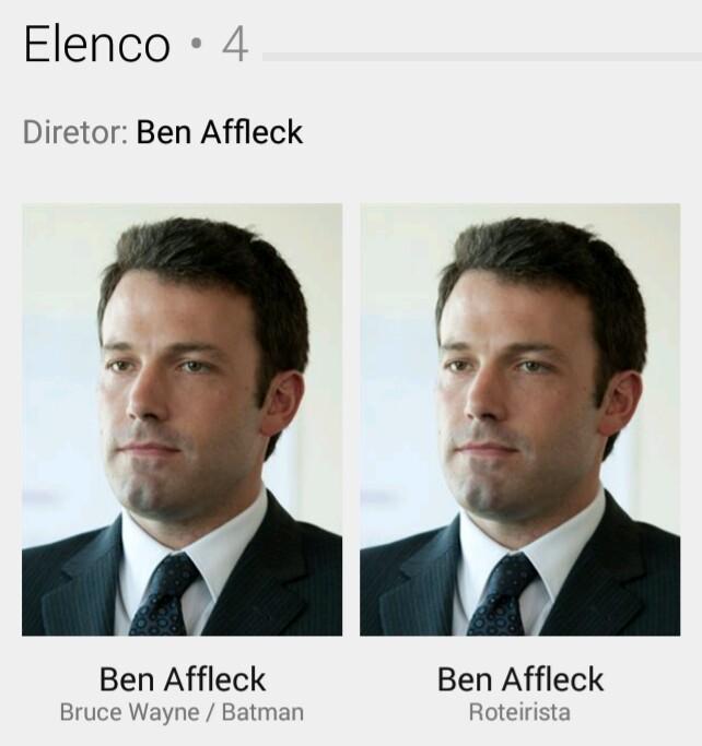 Participação Especial: Ben Affleck - meme