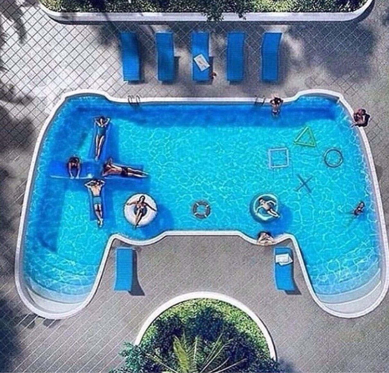 je veux cette piscine - meme