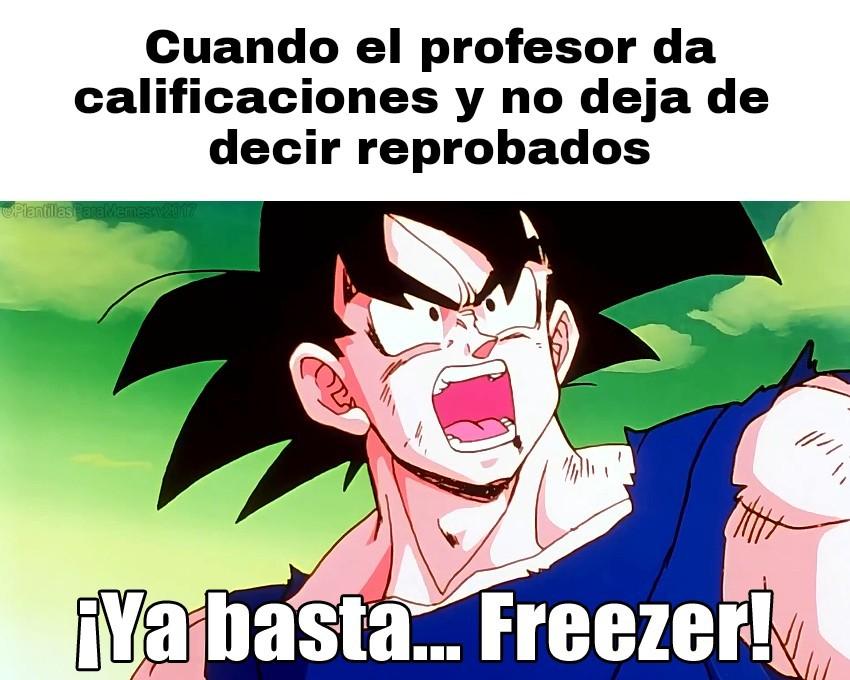 Ya basta freezer... - meme