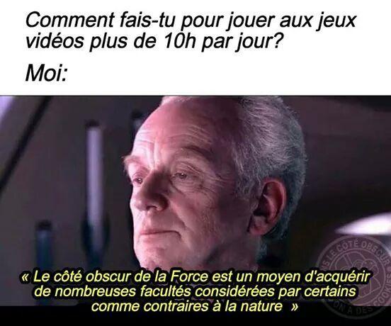 Les no life - meme