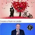 Vladimir ficou Putin com esse meme