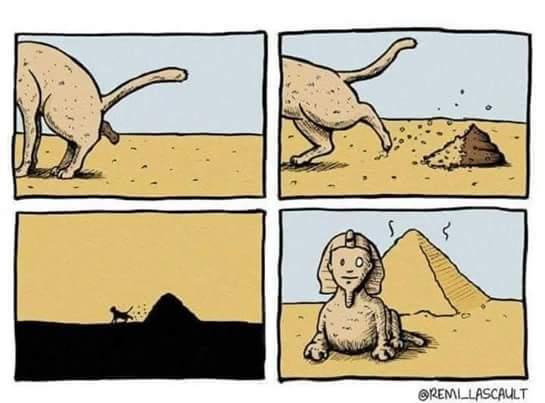 C'est normal en égypte - meme