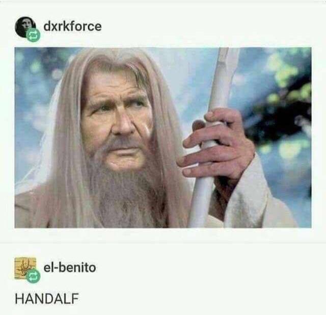 HANDALF - meme