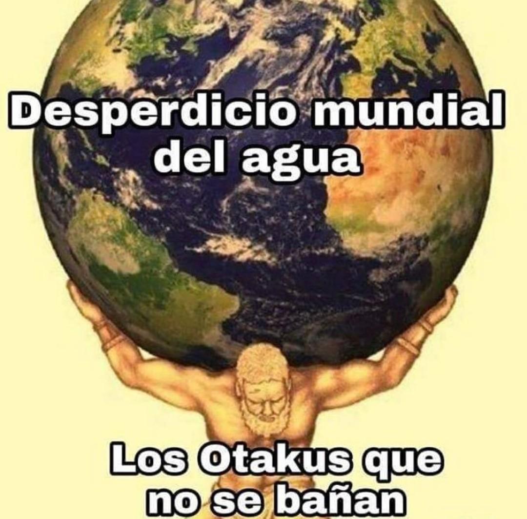Otakus conscientes - meme