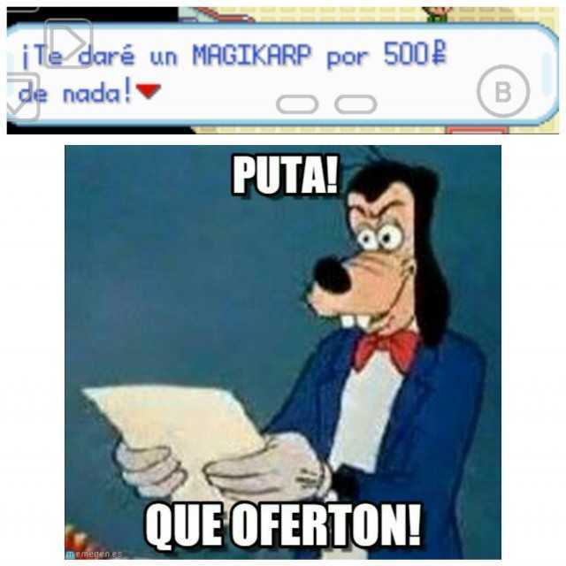 GOOBY EL MILLONARIO - meme