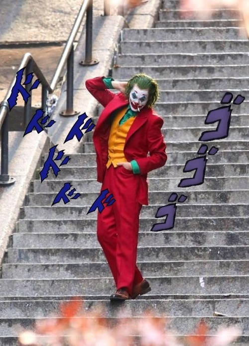 JOker JOestar que coincidencia - meme