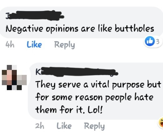 Butts and Opinions - meme