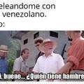 Lo siento si he molestado a algún venezolano