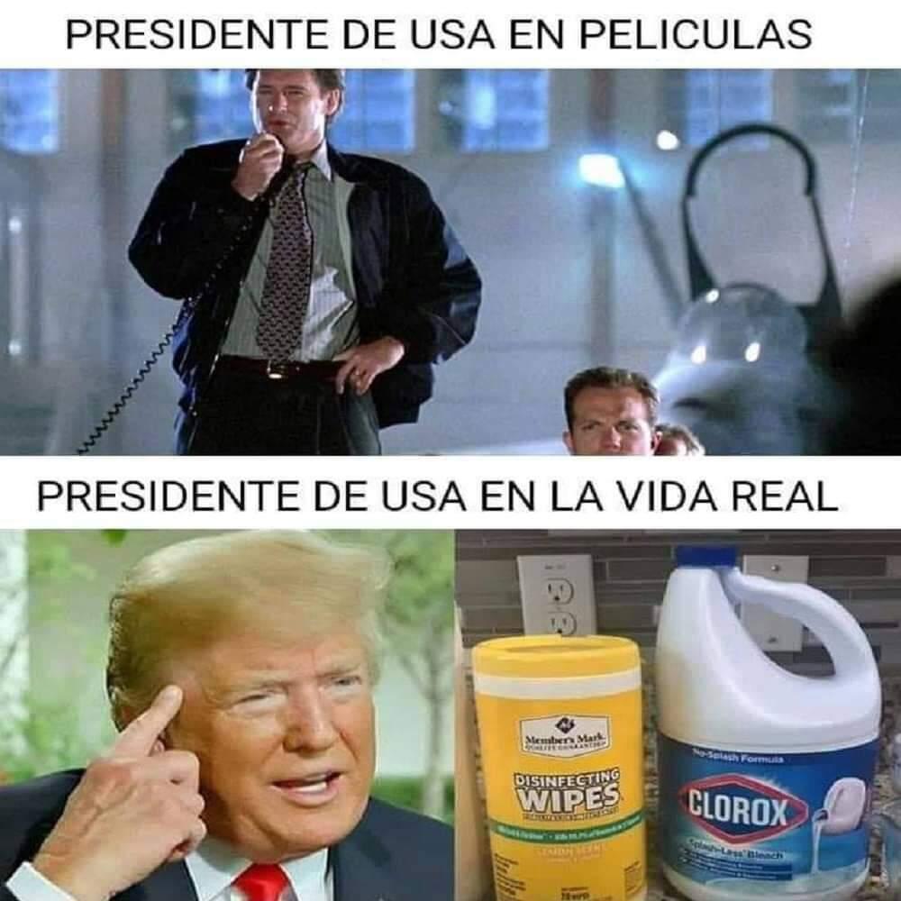 Trump, pendejo - meme
