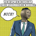 mememan con pelo is; NICE