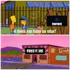 Confirmo free fire es basura - meme