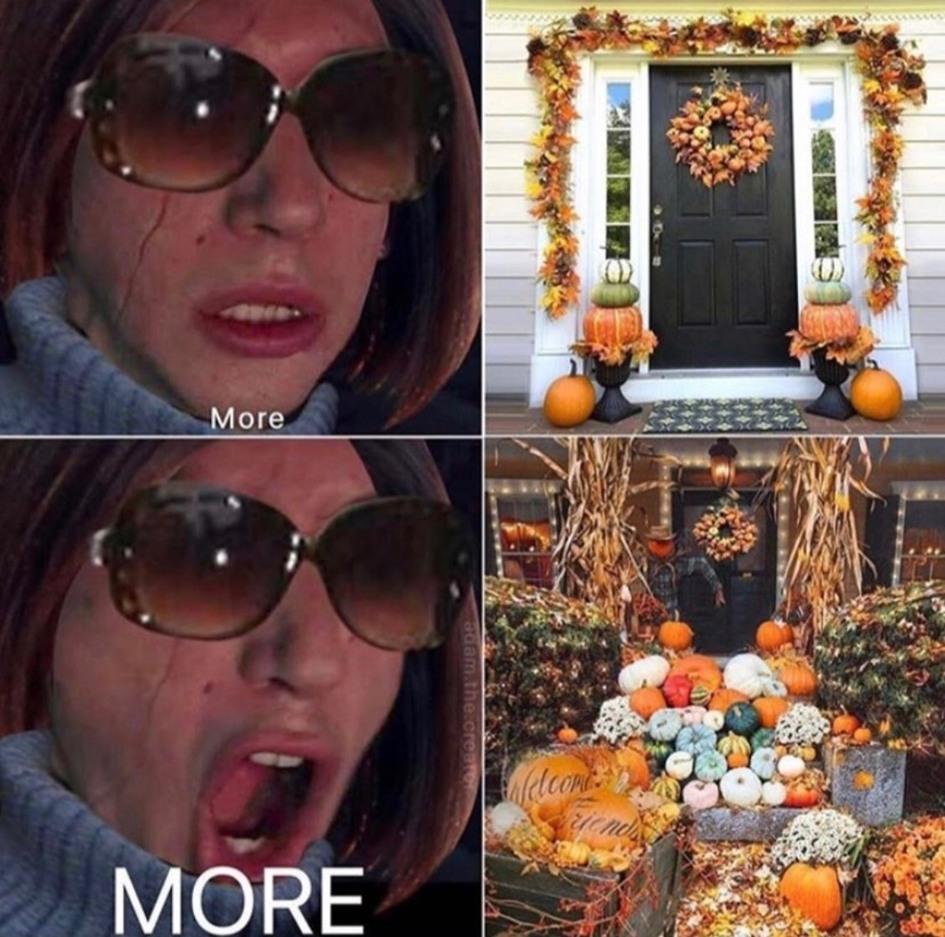 Karen likes it spooky - meme